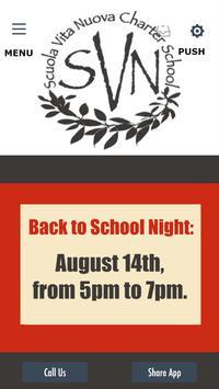 Scuola Vita Nuova Charter School poster