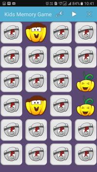 Funny Kids Memory Game apk screenshot