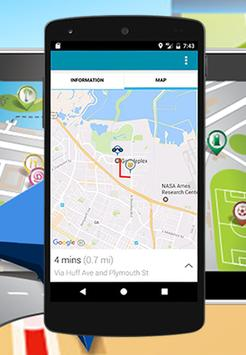 GPS Route and location apk screenshot