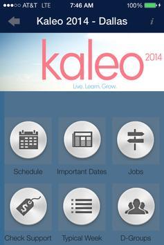 Kaleo Dallas poster