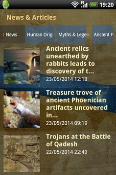 Ancient Origins screenshot 1