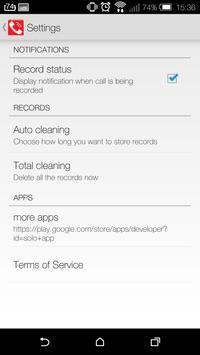 Save My Call: Free recorder apk screenshot