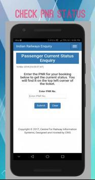Live Train PNR Status VI apk screenshot