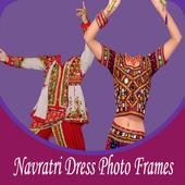 Navratri Dress Photo Frames icon