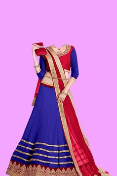 Navratri Dress Photo Frames poster