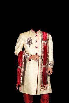 Sherwani Suit Photo Frames poster