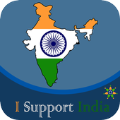 I Support India icon