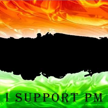 I Support India poster
