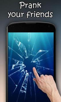 Cracked Screen-poster