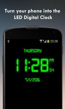 Poster Digital Clock - LED Watch