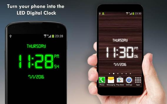 Digital Clock - LED Watch screenshot 3