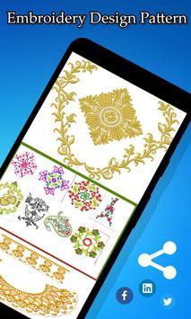 Embroidery Design Pattern screenshot 2