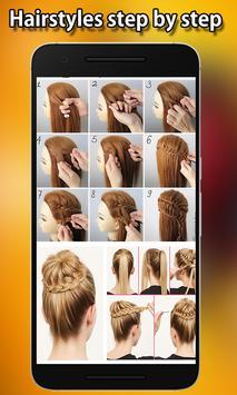 Best Hairstyles step by step screenshot 1