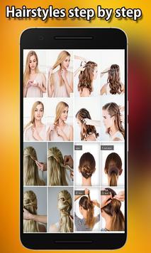 Best Hairstyles step by step screenshot 4
