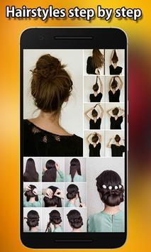 Best Hairstyles step by step screenshot 5