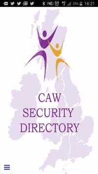 CAW Security Directory apk screenshot