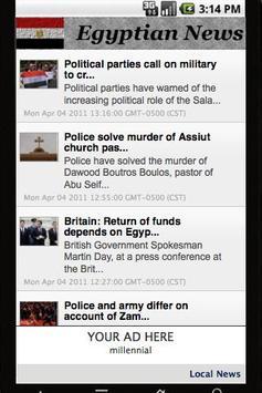 Egypt News poster