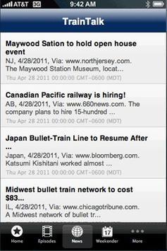 TrainTalk screenshot 3