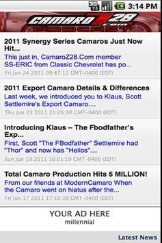 CamaroZ28.COM Podcast apk screenshot