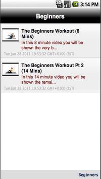 Pilates 4 Beginners NOW FREE! apk screenshot