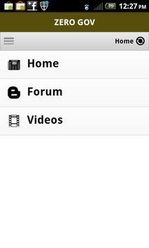 ZeroGov.com apk screenshot