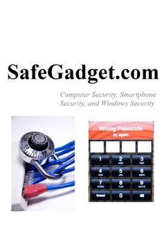 SafeGadget - Computer Security poster