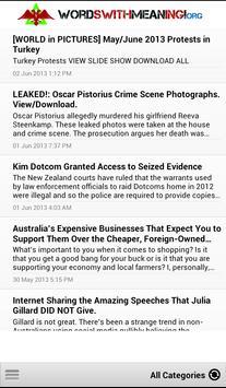 Independent News and Affairs apk screenshot