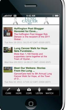 Lung Cancer 411 apk screenshot