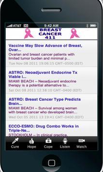 Breast Cancer 411 apk screenshot