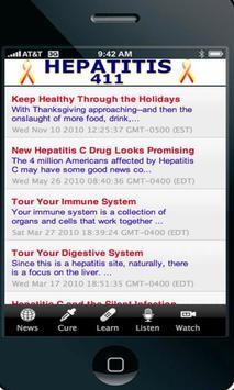 Hepatitis 411 poster