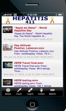Hepatitis 411 apk screenshot