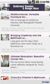 Bathroom Vanities & Design apk screenshot