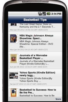 Basketball Tips poster