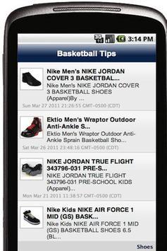 Basketball Tips screenshot 1