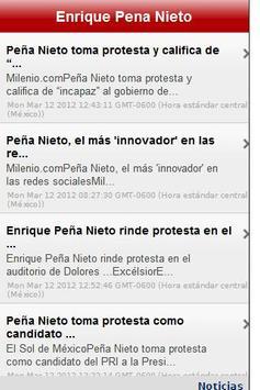 Enrique Peña Nieto poster