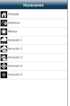 Huracanes apk screenshot