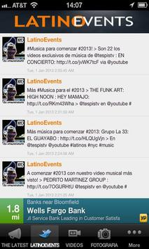 LATINO EVENTS apk screenshot
