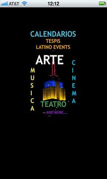 LATINO EVENTS poster