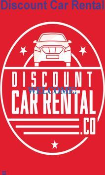 Discount Car Rental poster