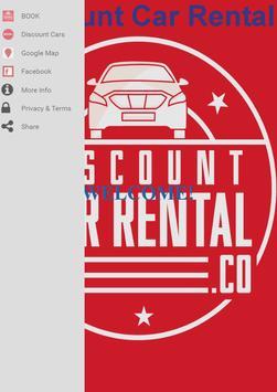 Discount Car Rental apk screenshot