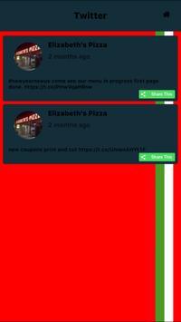 Elizabeths pizza of siler city apk screenshot