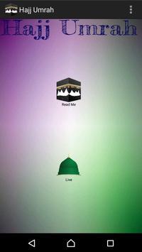 Hajj & Umrah preparation 2018 poster