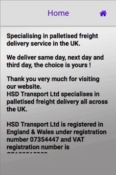 HSD Transport Ltd screenshot 4