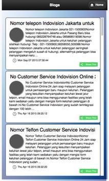 Call Center Indovision screenshot 1