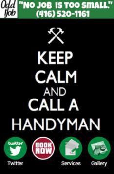 OddJob - Keep Calm poster