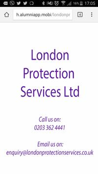 London Protection Servces apk screenshot