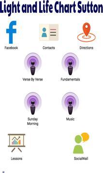Light Life Chart Sutton poster