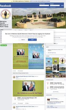 Gandhi Memorial - DFW-TX screenshot 2