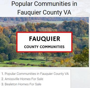 Northern Virginia Homes For Sale By Neighborhood screenshot 1