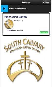 South Calvary MBC Mobile poster